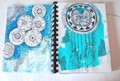 heArt Makes: Peek inside my art journal