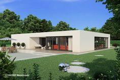Flachdachbungalow Modern bungalow wird der nachbarschaft bungalow modern and spaces