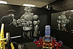 murals for gyms | http://ruthlessgym.com/pictures/
