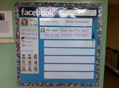 Facebook bulletin board. I post a question & students respond. They love it !