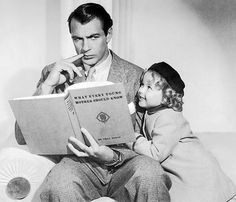 Gary Cooper and Shirley Temple promo for - Now and Forever Gary Cooper, Clark Gable, Marlene Dietrich, Cary Grant, John Wayne, Shirley Temple, Parejas Goals Tumblr, Divas, Actor Secundario