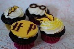 harry potter cupcales