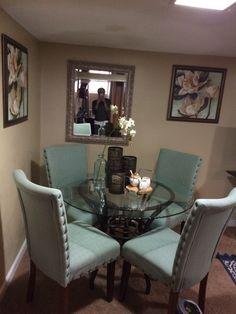 Living Room Decor Colors, Living Room Decor Inspiration, Decor Home Living Room, Home Decor Kitchen, Home Decor Furniture, Home Bedroom, Bedrooms, Dining Room Table Decor, Dining Room Design