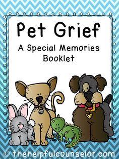 Pet Grief: A Special Memories Booklet #petgrief #grief $