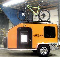 Teardrop Camper Plans   AdventureBuddies Aluminum Offroad Teardrop build - Expedition Portal