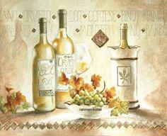 Claudia-Ancilotti-Pinot-Bianco-Wein-Kueche-Fertig-Bild-60x80-Wandbild