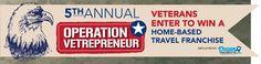 Copy of Operation Vetrepreneur: Veterans Enter-to-Win a Travel Franchise
