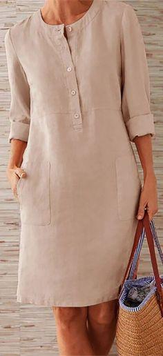 Prime Today🤣Boho Plus Size Elegant Fashion Mini DressSHOP NOW is part of Mini dress fashion - Simple Dresses, Plus Size Dresses, Casual Dresses, Boho Fashion, Fashion Dresses, Fashion Details, Fashion Ideas, Boho Plus Size, Mode Outfits