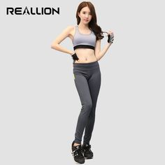 10e25c0805 2017 New Arrived 2 Piece Women Yoga Fitness Running Suits Sport Bra # Yogapants Hardloopkleding,