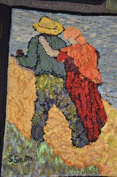 SHARON SMITH WORKSHOP - Woolwrights Rug Hooking Guild
