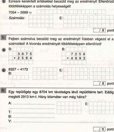 Hajdú Matek 4. Osztály_1 Periodic Table, Anna, Worksheets, Periodic Table Chart, Periotic Table