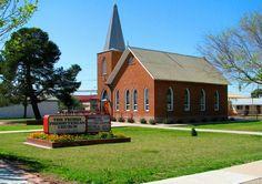 First Presbyterian Church of Peoria. AZ 1899