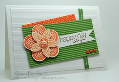 Gothdove Designs - Alison Barclay: Stampin' Up! Triple Treat Flower