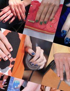 Spring / Summer 2014 Nails, ELLEuk.com