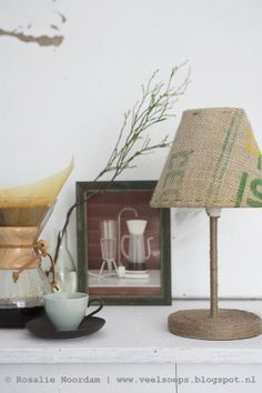 DIY jute, lamp © Rosalie Noordam photo: ©ANOUKDEKLEERMAEKER | www.studio309.nl
