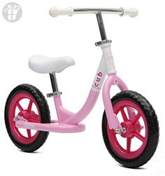 Critical Cycles Cub No-Pedal Balance Bike for Kids, Blush Pink (*Amazon Partner-Link)