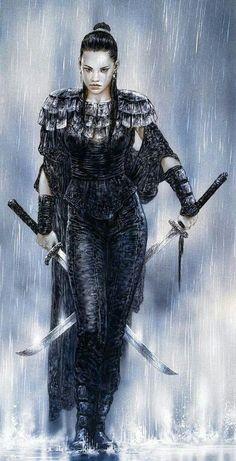 Warrior by Luis Royo