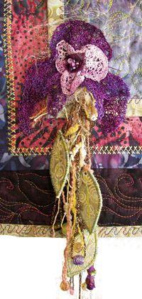 Embellishments with Attitude | Linda Matthews: Textile Art & Design