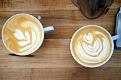 """Scenes From a Latte Art Showdown in Sunset Park: Local baristas competed at Industry City to win a $1,000 grand prize, otherwise known as """"one month's rent."""""""