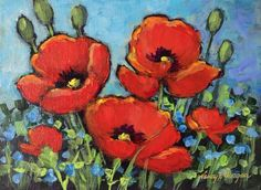 Passing Poppies - Nancy F. Morgan
