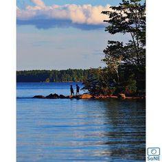 Maine  Pic of the day 09.15.15  Photographer @twf214  Congratulations!   #scenesofME #casco #cascome #pointsebago  #pointsebagoresort #vacationland #igmaine #autumn