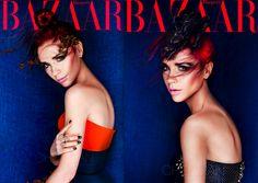 Ahhhh! Victoria Beckham looks ahhmazing. Makes me want red again.