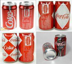 Retro coke cans #coke #cocacola #soda