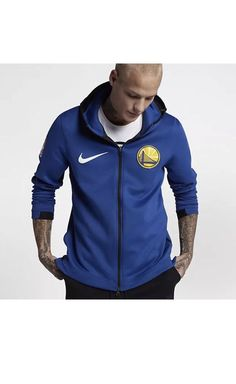 Nike NBA Golden State Warriors Therma Flex Jacket Size M New 899840 495   Nike  GoldenStateWarriors 1600de905