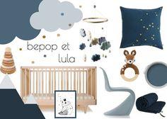Chambre de bébé - Bleu