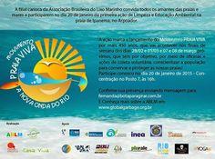 Bota para girar!, por Fernanda Cubiaco: Movimento Praia Viva por mais 450 anos de praia se...