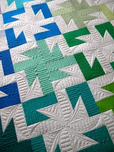 "What interesting quilting! Sew Kind Of Wonderful: ""Sparkler"" Lee's Latest! [...the pattern is now available in the Spring 2013 issue of Fons & Porter's Easy Quilts.]"