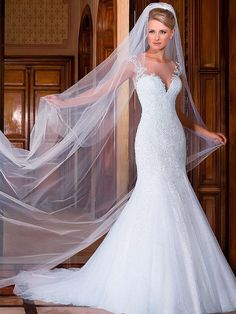 High-end-personalizado-feito-Vestido-De-Noiva-Sexy-sereia-vestidos-De-Noiva-elegante-Cap-vestidos-De (1)