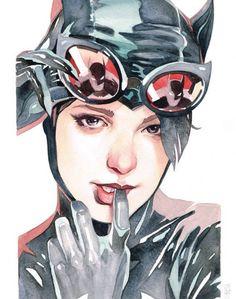 "lefi17: "" Catwoman by Garrie Gastonny """