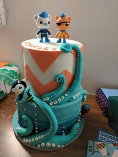 Octonauts Birthday Cake by Claire Owen Cakes