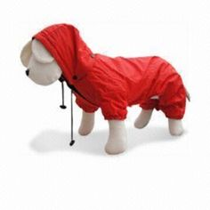 Dog Raincoat, Gorgeous in Wet Weather, Easy to Clean
