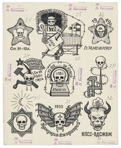 russian gang tattoo - Recherche Google