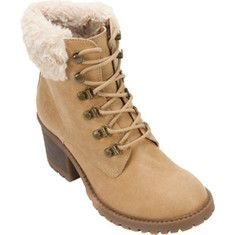 Women's Cliffs by White Mountain Tulane Sweater Collar Hiker Boot - Wheat Distressed PU/Multi Sweater with FREE Shipping & Exchanges. The Tulane Sweater Collar Hiker Boot from Cliffs by White Mountain features hiking-inspired accents