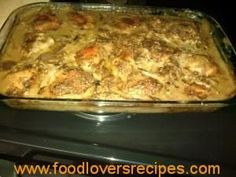 HOENDER ALA HANLIE Curry Recipes, Meat Recipes, Cooking Recipes, Recipies, Kos, Chicken And Mushroom Pie, Cooked Chicken Recipes, Chicken Meals, Recipe Chicken