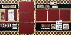 Scrapbook Page Layouts, Scrapbook Pages, 6 Photos, Own Home, Mini Albums, Craft Supplies, Craft Projects, Paper Crafts, Kit