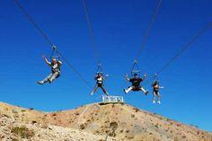 Zip Line thru Boot Leg Canyon!