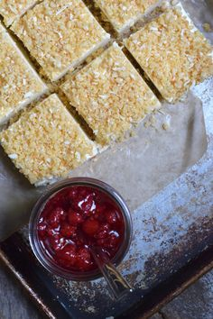 Raspberry Coolie - Real Everything Raspberry Desserts, Raspberry Sauce, Ice Cream Desserts, Custard Sauce, Fruit Sauce, Icecream Bar, Grass Fed Butter, Some Recipe