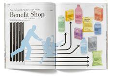 ABN Amro magazine interne Benefit Shop