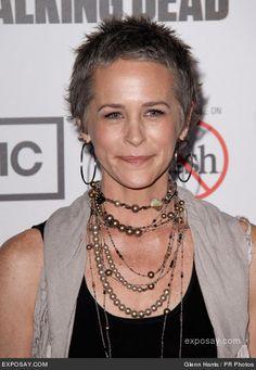 "Melissa McBride, actress, best known as Carol Peletier in AMC's ""The Walking Dead"", from Lexington"