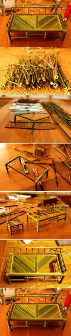 Diy Bamboo Bed | Click to see More DIY & Crafts Tutorials on Our Site.