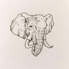 Eye Drawing Simple Closed Ideas For 2019 Eye Black Designs, Eye Drawing Simple, Eyes Artwork, Eye Sketch, Dark Circles Under Eyes, Elephant Head, Elephant Design, Ink Illustrations, Sketch Design
