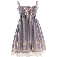Partiss Damen Gothic Lolita Aermellos Straps Vintage Klassisch Sweet Fancy Dress Lolita Kleid, Chinese One Size, Light Blue Partiss http://www.amazon.de/dp/B01D8ID868/ref=cm_sw_r_pi_dp_ap87wb1F819QX