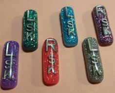 Check out this item in my Etsy shop https://www.etsy.com/listing/487230022/small-glitter-x-ray-markers
