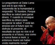 El hombre según Dalai Lama