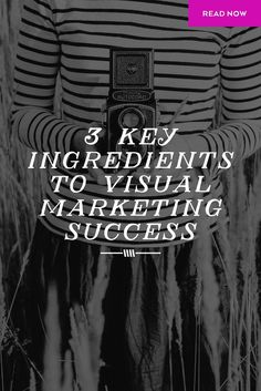 Visual marketing has become a requirement of the entire industry, since we all represent properties AND ourselves online. Here are some of the key ingredients you'll need!