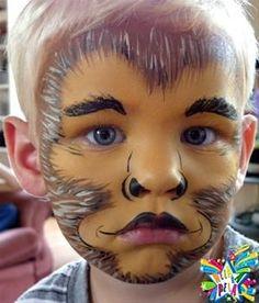 chimp face